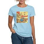 Sexy Western Cowgirl Pop Art Women's Light T-Shirt