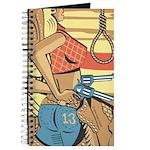 Sexy Western Cowgirl Pop Art Journal