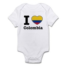 I love Colombia Infant Bodysuit
