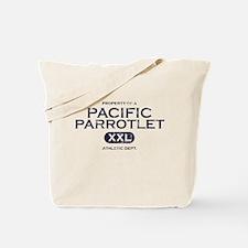 Property of Parrotlet Tote Bag