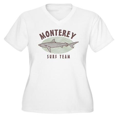 Monterey Surf Team Women's Plus Size V-Neck T-Shir