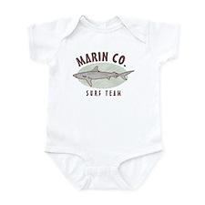 Marin County Surf Team Infant Bodysuit