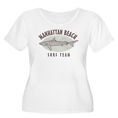 Manhattan Beach Surf Team Women's Plus Size Scoop