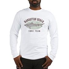 Manhattan Beach Surf Team Long Sleeve T-Shirt