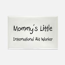 Mommy's Little International Aid Worker Rectangle