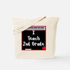 I Teach 2nd Grade Tote Bag