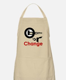 Obama For Change BBQ Apron