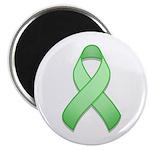 Light Green Awareness Ribbon Magnet