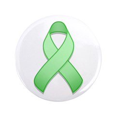 Light Green Awareness Ribbon 3.5