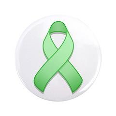 Light Green Awareness Ribbon 3.5