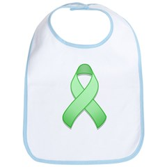 Light Green Awareness Ribbon Bib