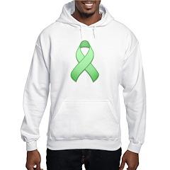 Light Green Awareness Ribbon Hoodie