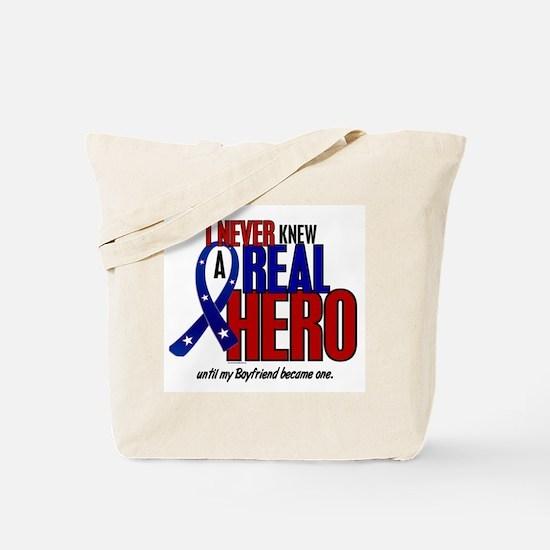 Never Knew A Hero 2 Military (Boyfriend) Tote Bag