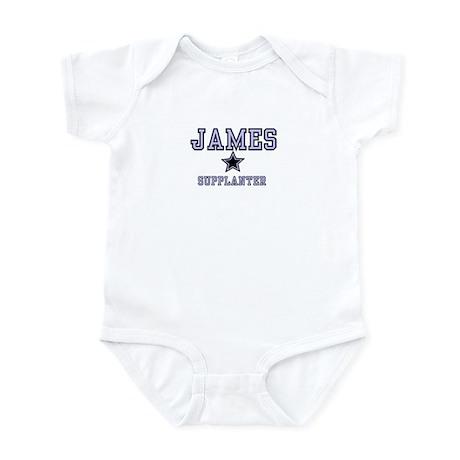 James - Name Team Boy Infant Bodysuit