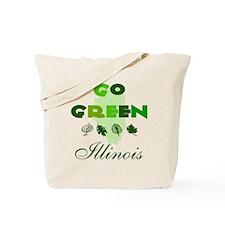 Go Green Illinois Reusable Tote Bag