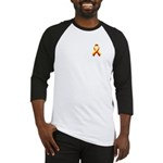 Red and Yellow Awareness Ribbon Baseball Jersey