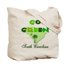 South Carolina State Flag Reusable Tote Bag