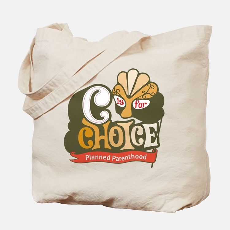 C is for Choice Tote Bag