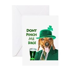 Dont Pinch Greeting Card