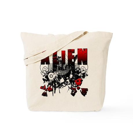 Alien Vector Design 25 Tote Bag