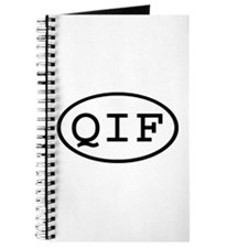 QIF Oval Journal