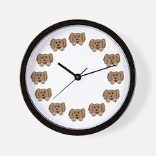 Veterinarian Puppy Dog Wall Clock