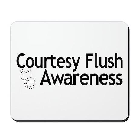 Courtesy Flush Awareness Mousepad