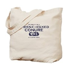 Property of Green Cheeked Conure Tote Bag