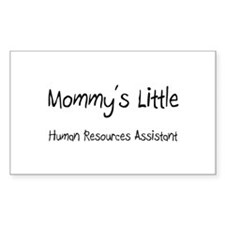 Mommy's Little Human Resources Assistant Decal