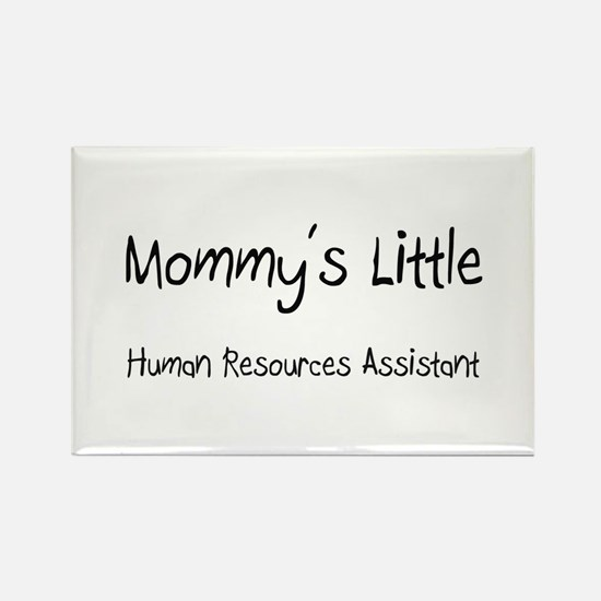 Mommy's Little Human Resources Assistant Rectangle
