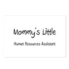 Mommy's Little Human Resources Assistant Postcards