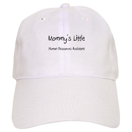 Mommy's Little Human Resources Assistant Cap
