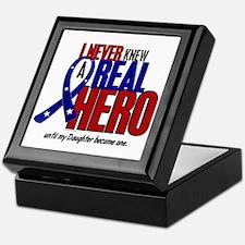 Never Knew A Hero 2 Military (Daughter) Keepsake B