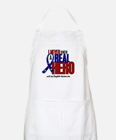 Never Knew A Hero 2 Military (Daughter) BBQ Apron
