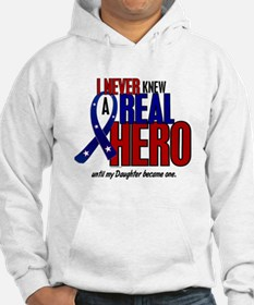 Never Knew A Hero 2 Military (Daughter) Hoodie