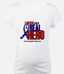 Never Knew A Hero 2 Military (Daughter) Shirt