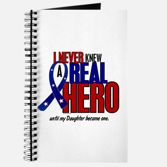 Never Knew A Hero 2 Military (Daughter) Journal