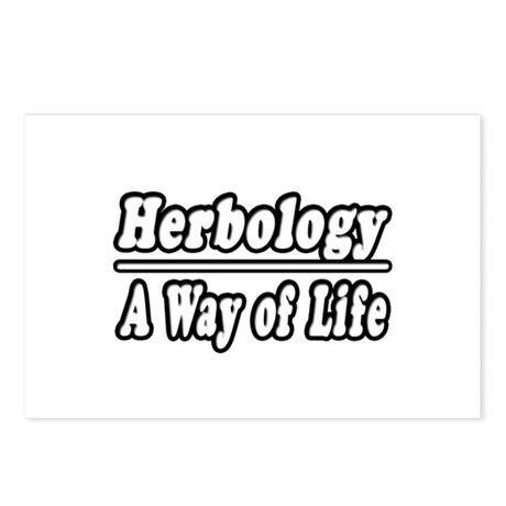 """""""Herbology: A Way of Life"""" Postcards (Package of 8"""