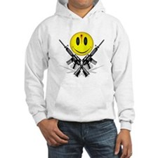 Bloody Happy Face Jumper Hoody