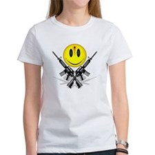 Bloody Happy Face Tee