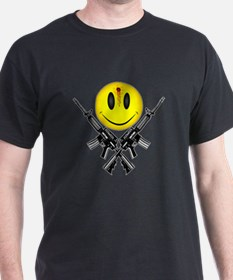 Bloody Happy Face T-Shirt