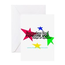 Superstar Dad Greeting Card