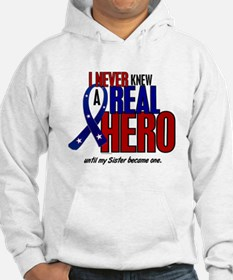 Never Knew A Hero 2 Military (Sister) Hoodie