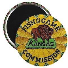"Kansas Game Warden 2.25"" Magnet (100 pack)"