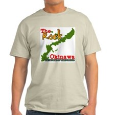 """The Rock"" Ash Grey T-Shirt"