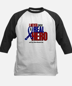 Never Knew A Hero 2 Military (Uncle) Tee