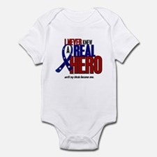 Never Knew A Hero 2 Military (Uncle) Infant Bodysu