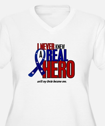 Never Knew A Hero 2 Military (Uncle) T-Shirt