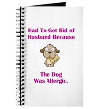 Got Rid of Husband (dog) Journal