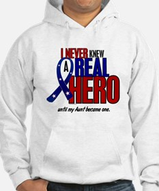 Never Knew A Hero 2 Military (Aunt) Hoodie
